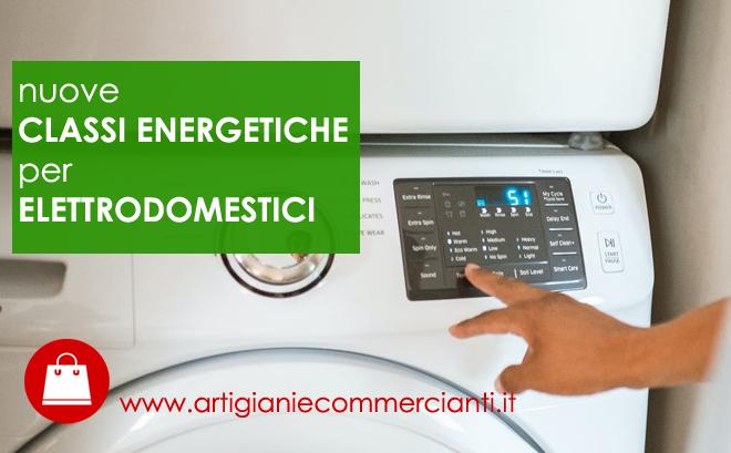 Classe energetica elettrodomestici, le nuove etichette 2021
